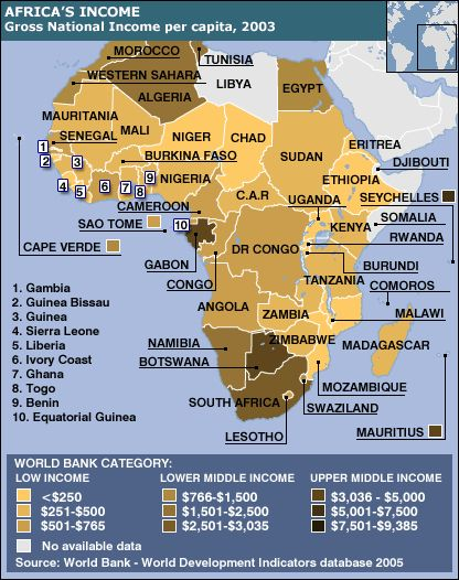 This image shows the gdp per capita throughout africa this image shows the gdp per capita throughout africa unfortunately africa is a very poor gumiabroncs Choice Image