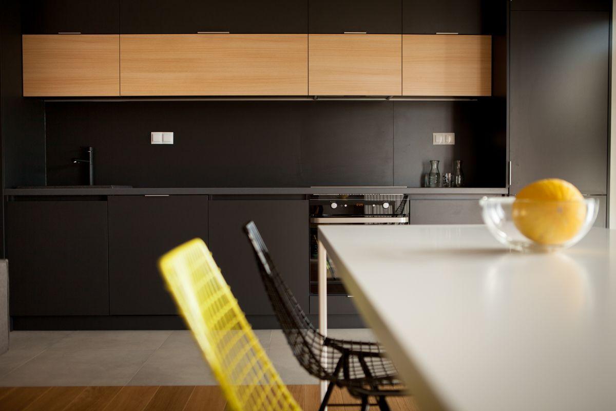 Czarne Płytki Do Kuchni Szukaj W Google Inspiracje
