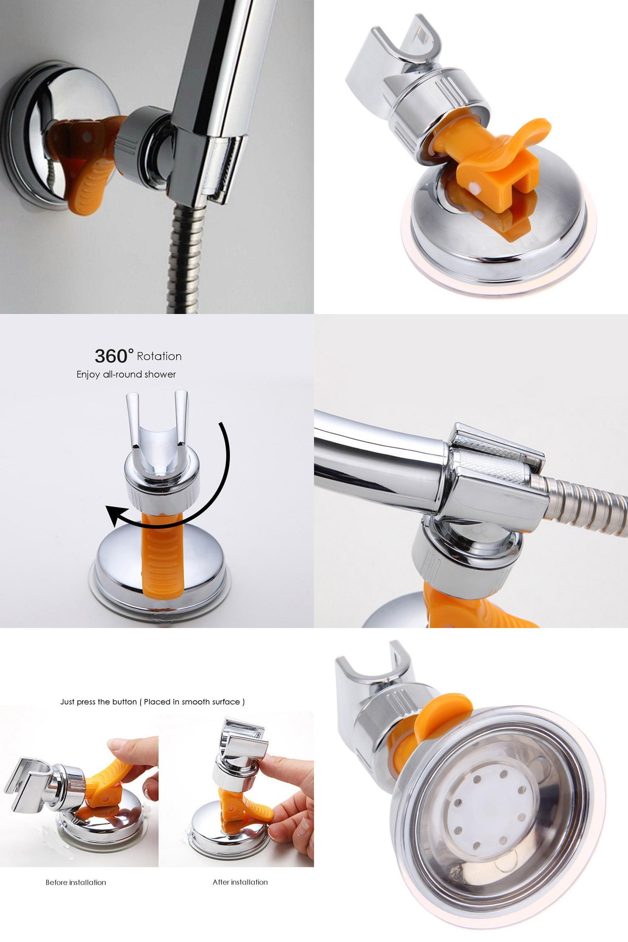 Visit to Buy] 1pcs Adjustable Shower Head Stand Bracket Holder for ...