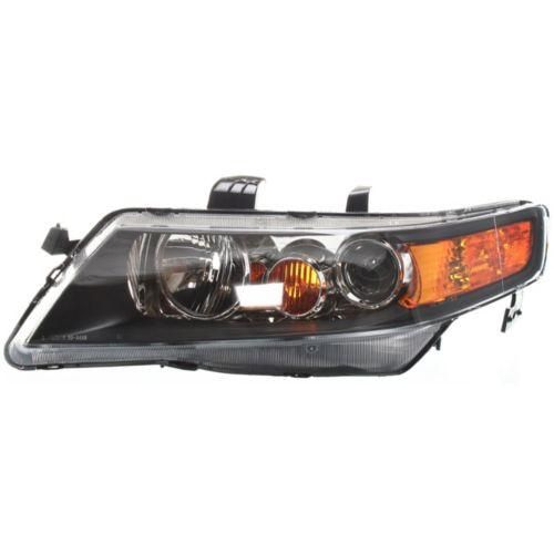 2006-2008 Acura TSX Head Light LH, Lens And Housing