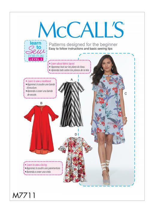 Patron Mc Call\'s 7711 | Patrons de couture - Sewing patterns ...