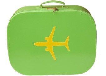 valise 'avion' funky (small) Bakker made with love | shop pour enfants Le Petit Zèbre