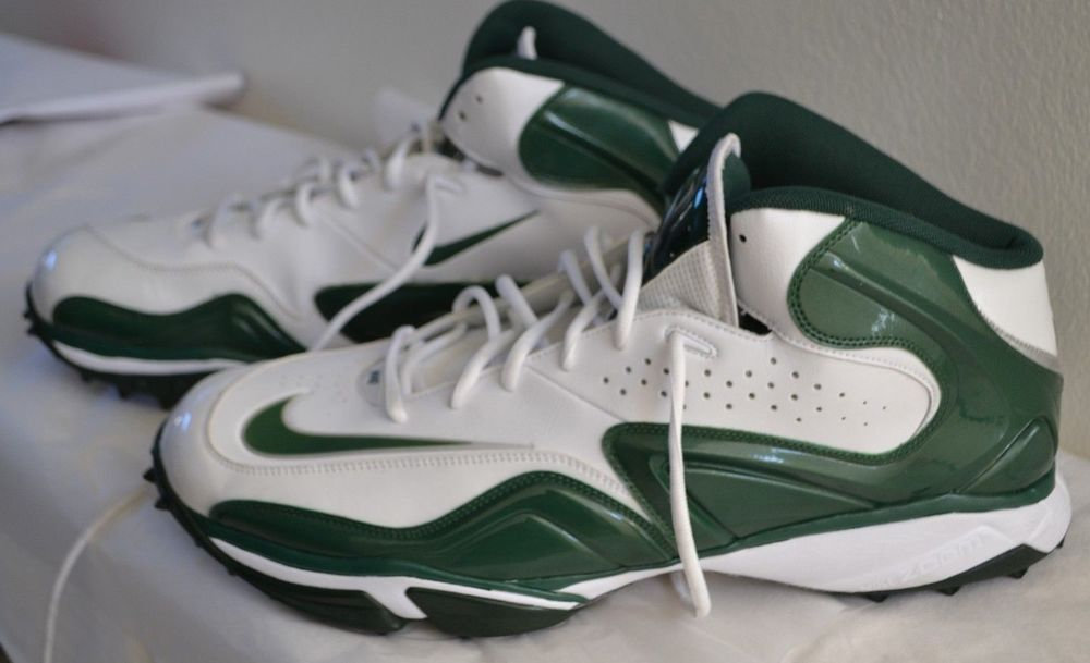 33901bb438 Nike Zoom Speed Nubby 5/8 Football TURF shoes Destroyer Green & White Men  US 18 #Nike #Football
