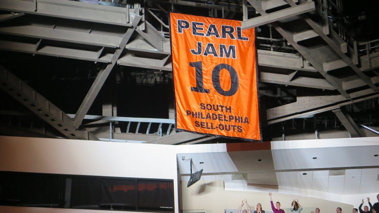 Image result for pearl jam philadelphia banner