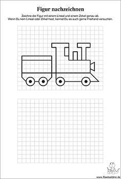 lokomotive zeichnen mathe nachzeichnen malen und zeichnen und arbeitsbl tter. Black Bedroom Furniture Sets. Home Design Ideas