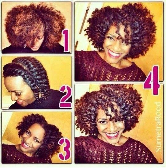 Como Rizar Pelo Afro Corto Cortes De Pelo De Moda Para Ti