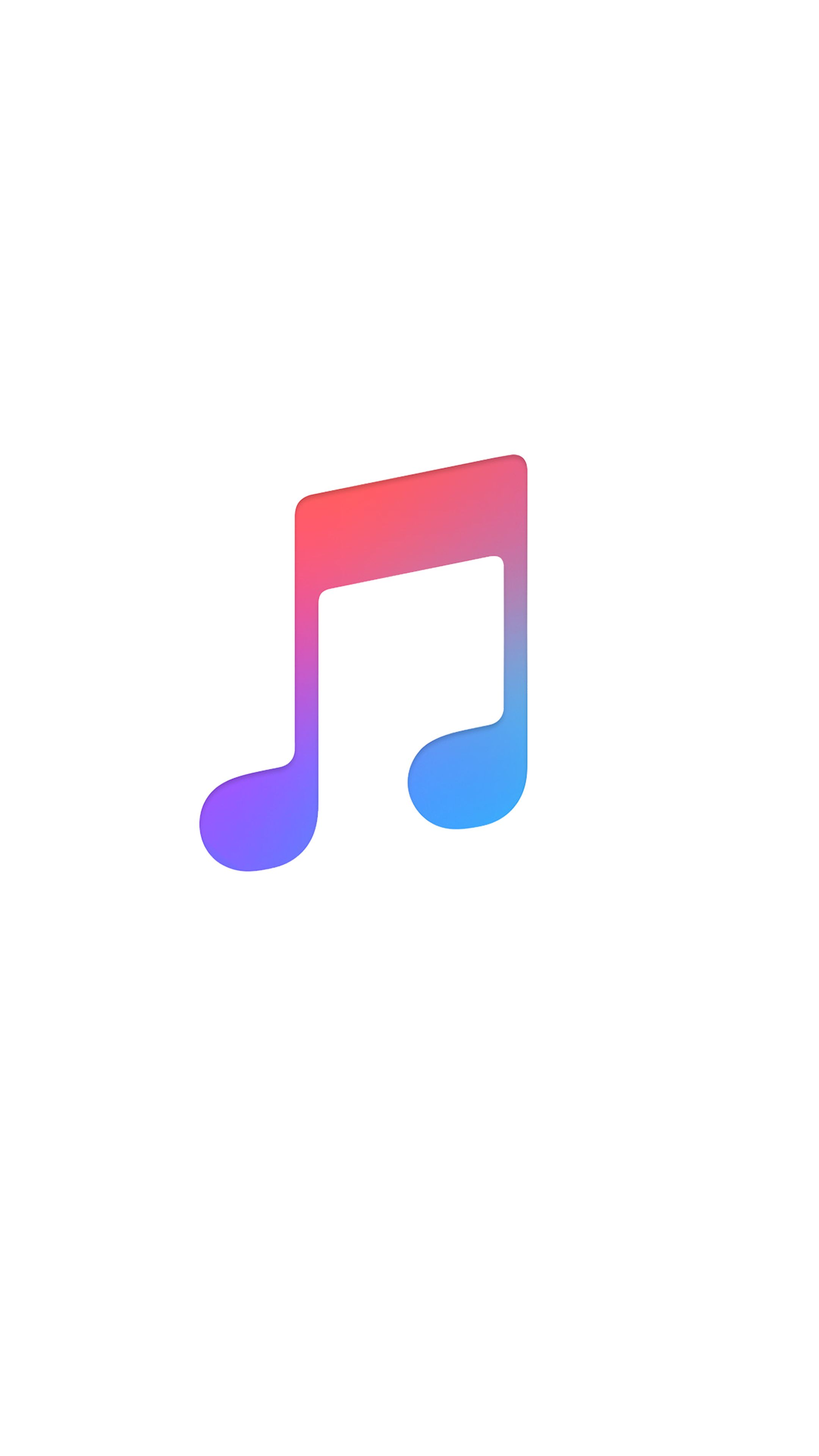 Apple music logo wallpaper Papeis de parede, Papel de