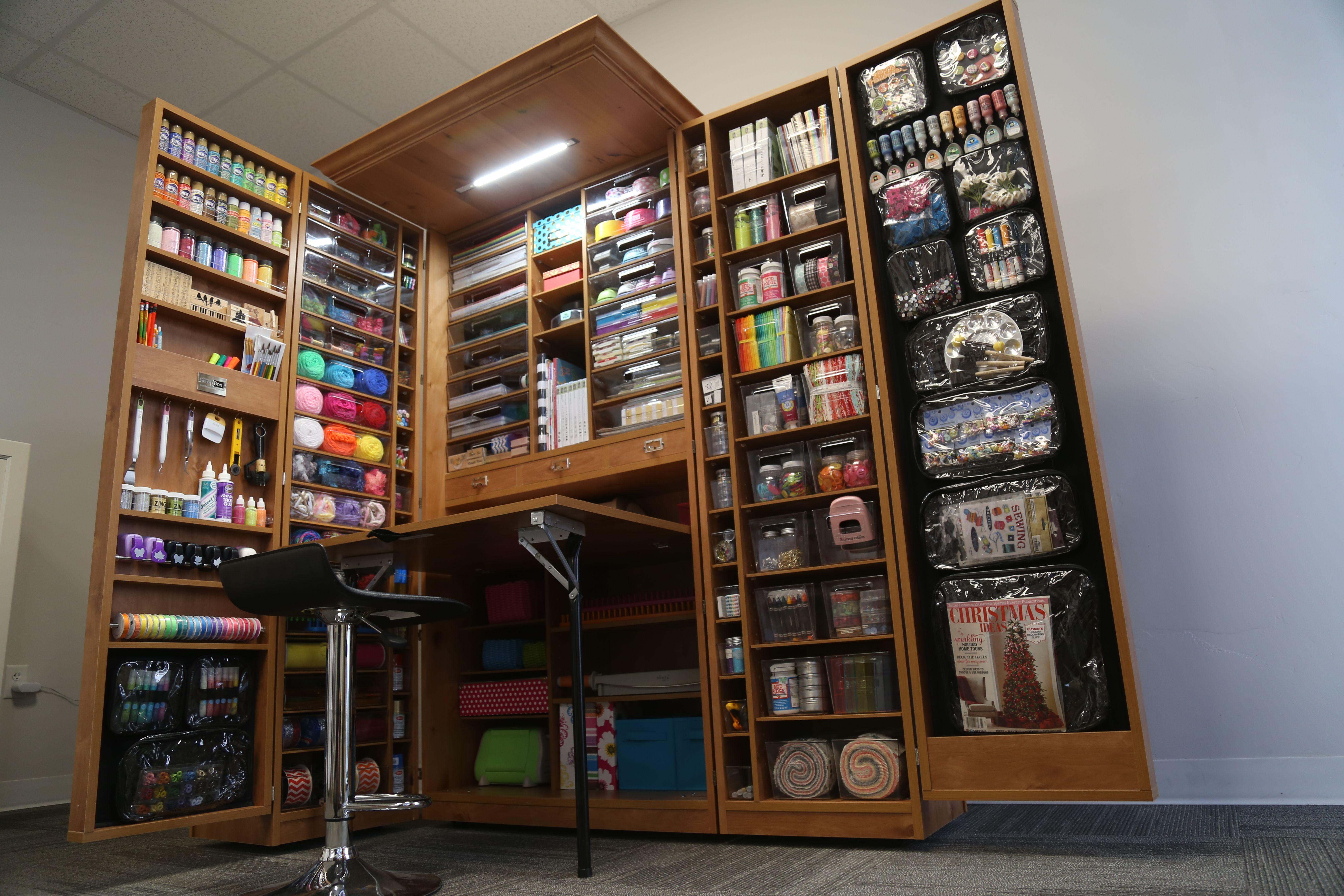 47++ Craft room storage cabinets ideas