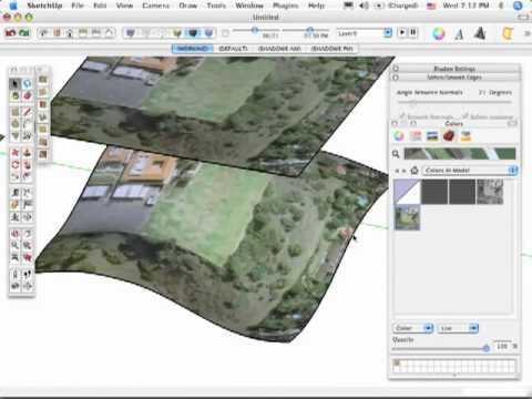 Customize Terrain In Sketchup Using 4 Different Methods More