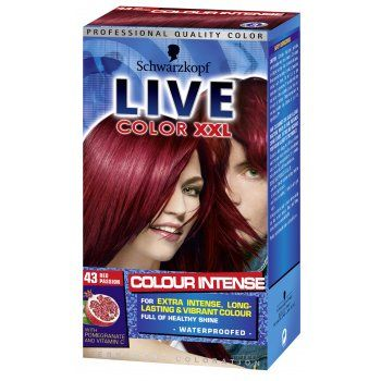 Schwarzkopf Schwarzkopf Live Intense Hair Color Red Passion 43