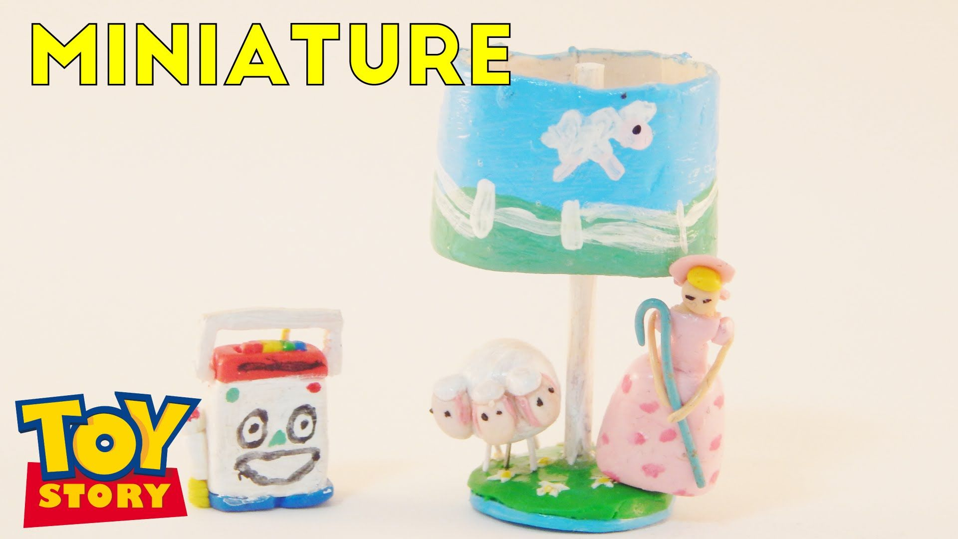 Mr Mike And Little Bo Peep Lamp Toy Story Miniature Room Box 1 12 Room Box Miniatures Little Bo Peep
