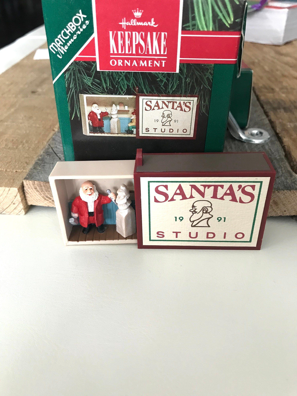 "Vintage Hallmark Keepsake Christmas Ornament ""Matchbox"