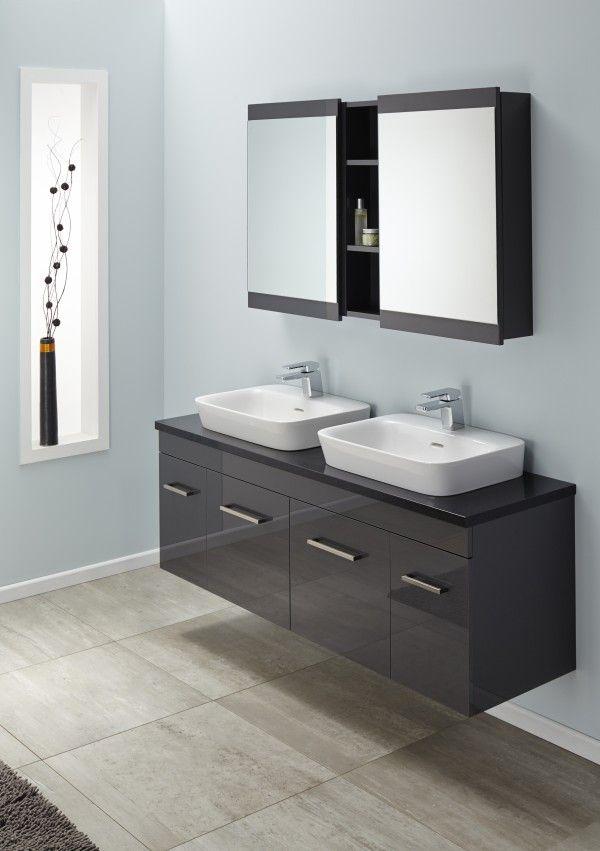 Sirocco Velaire 1500 Db Wall Absolute Black With Valdama Basins Box Handle Soji 500 Mirror Cabinets Soji 200 O Wall Hung Vanity Mirror Cabinets Bathroom Design