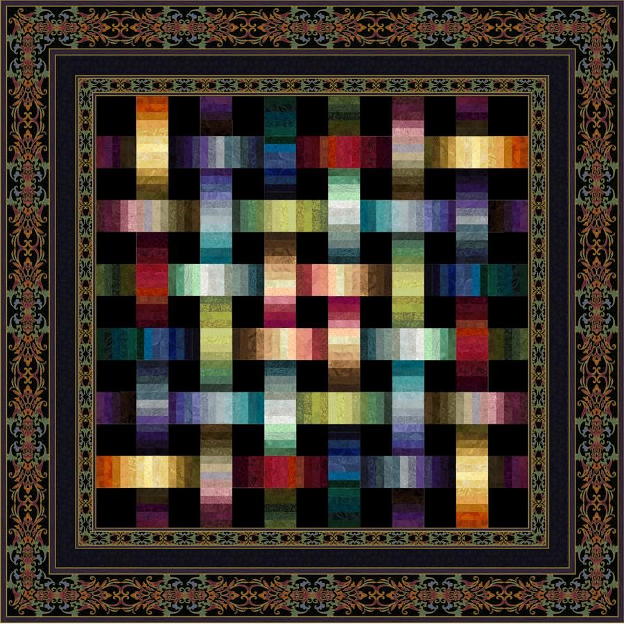 Quilt Kits Woven Ribbons Ribbon Quilt Optical Illusion Quilts Charm Quilt