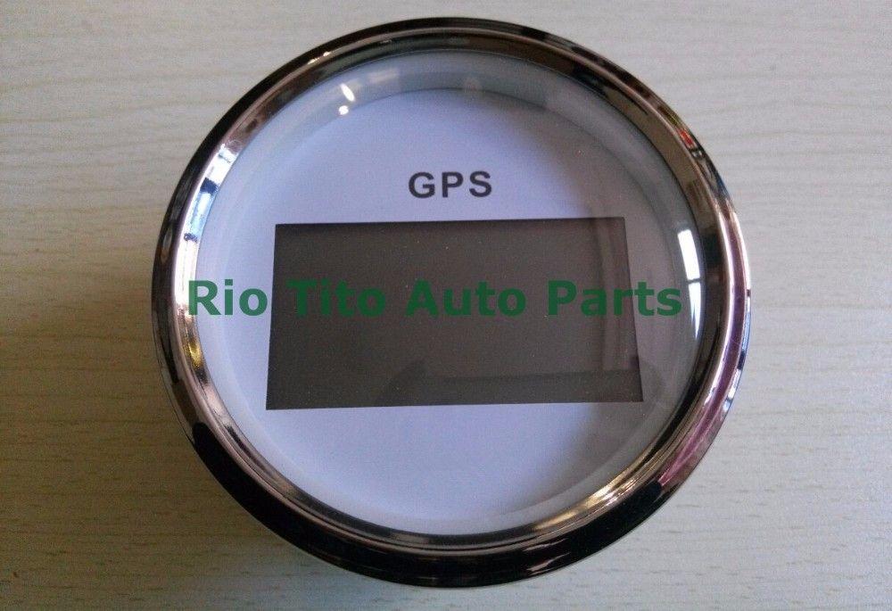 100 brand new CCSB 85mm GPS speedometer speed indicator