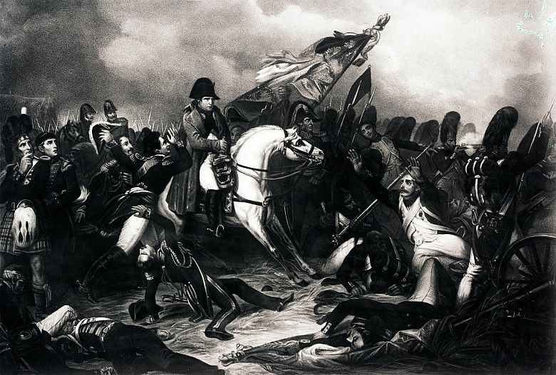 Battle of Waterloo - Painting - Napoleon & Empire