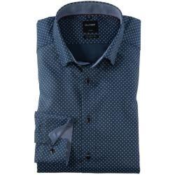 Photo of Olymp Luxor Shirt Cf Design Hellblau Olympolymp
