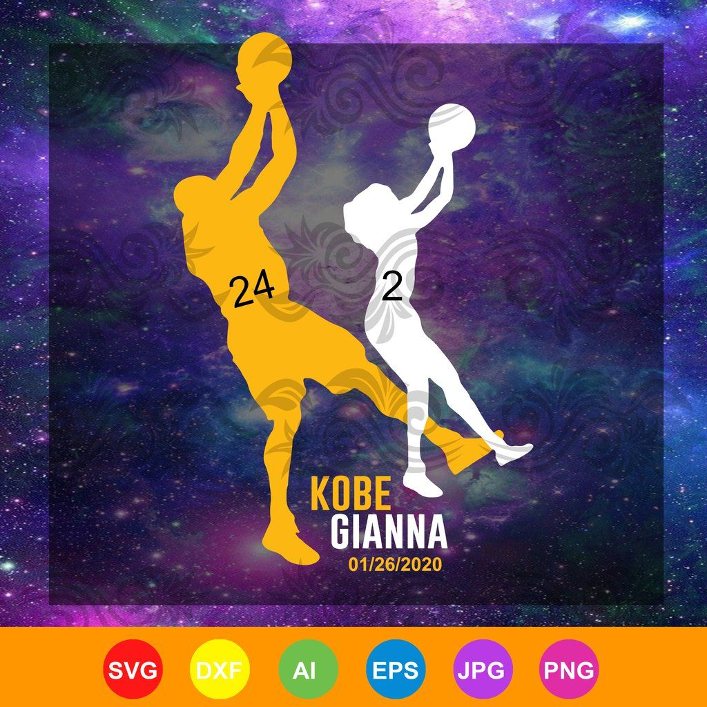 Kobe Spirit Basketball, No.24 GIANNA Shoot Never Merch