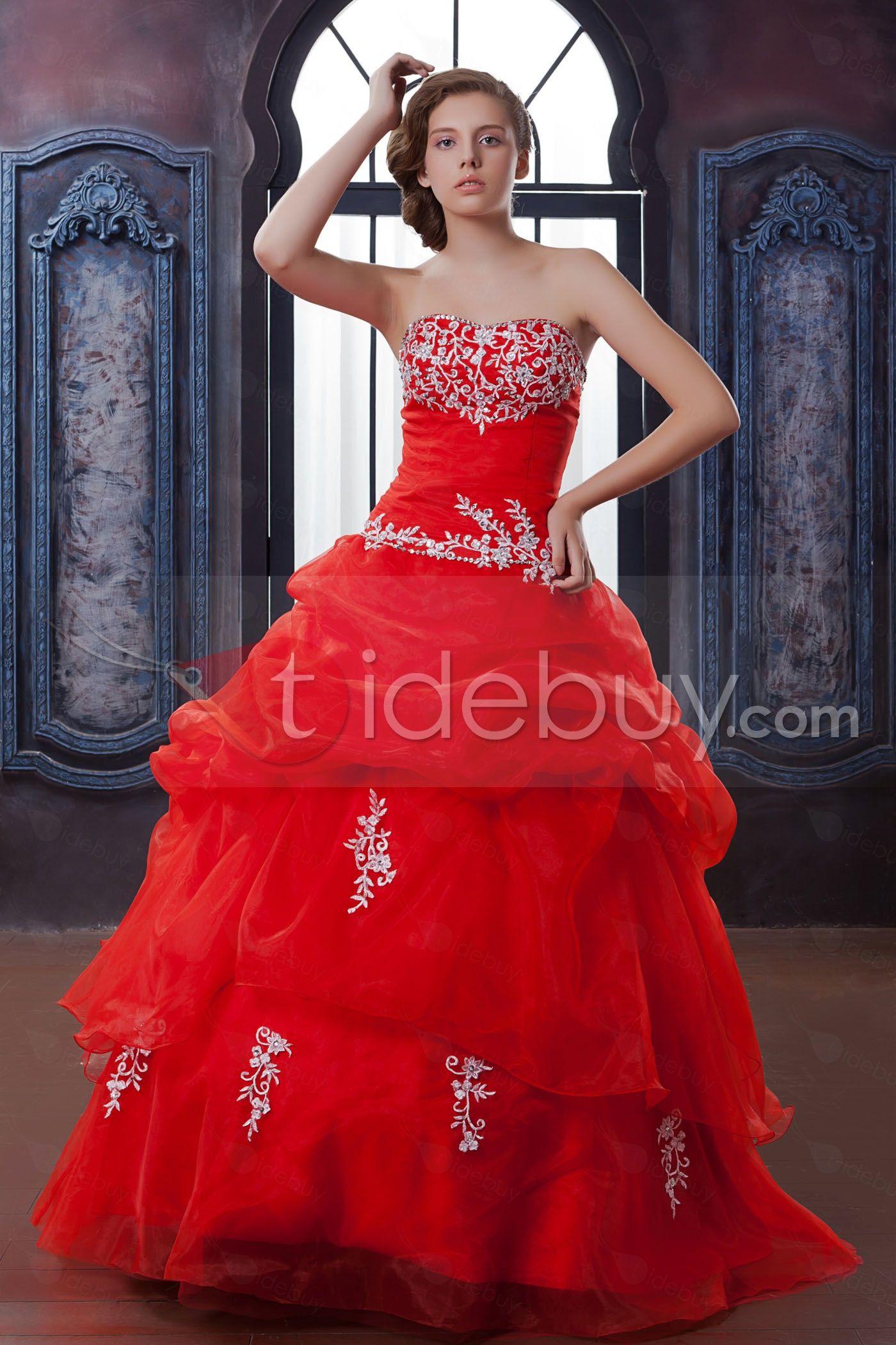 Us elegant ball dress strapless floorlength anitaus