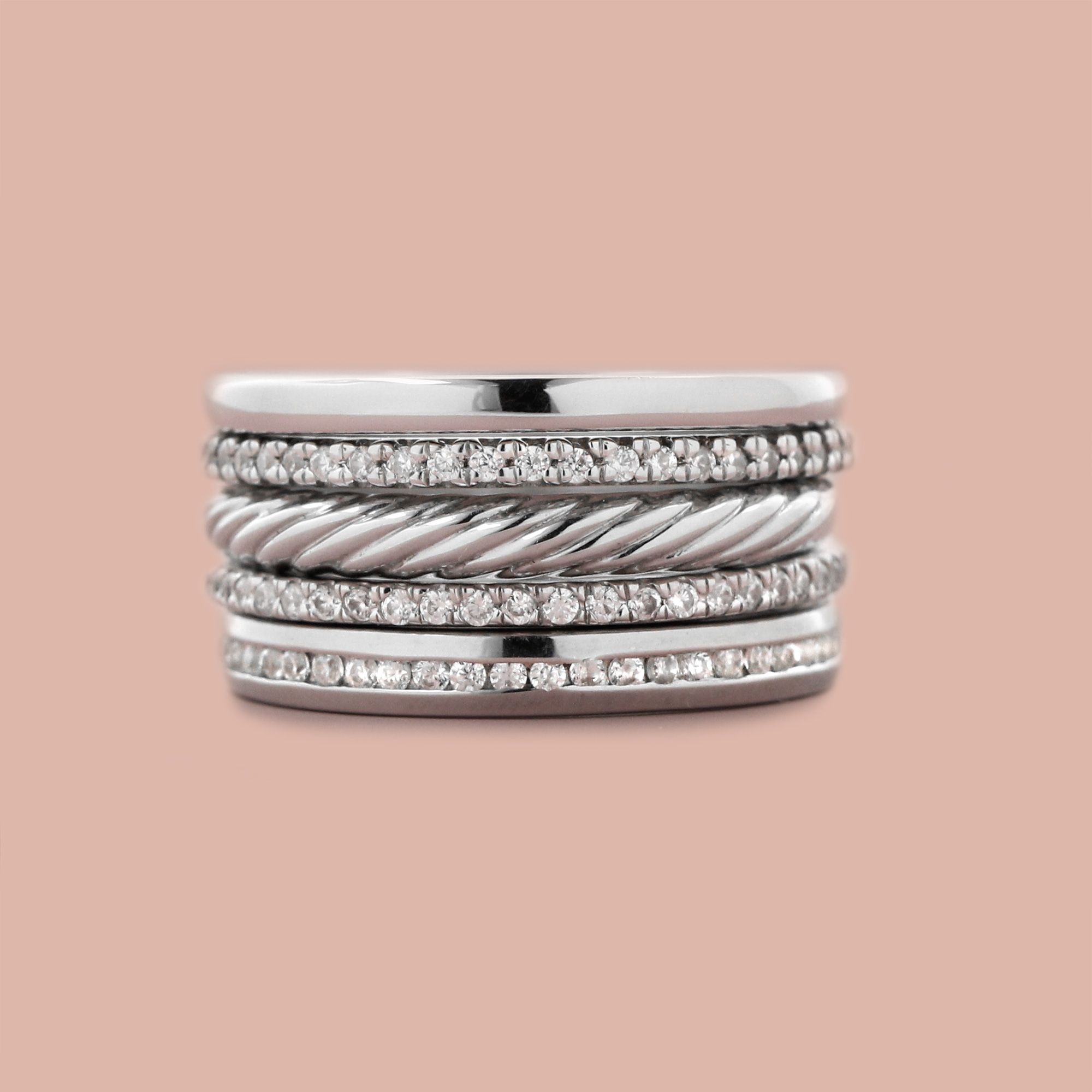 MiaDonna\'s new collection of Stackable Bands is interchangeable ...