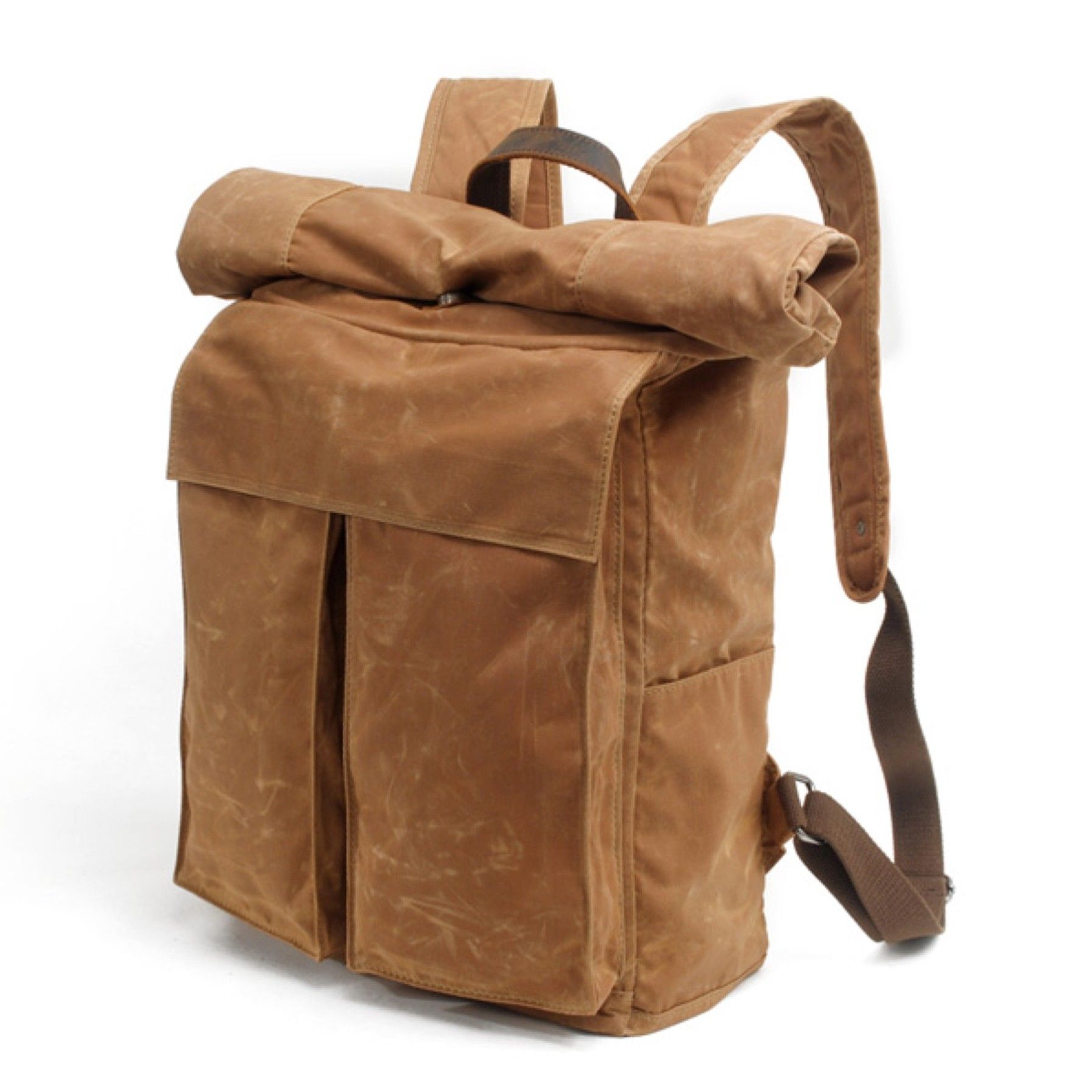 2a8faa1626 Boone Leather Backpack - Brown