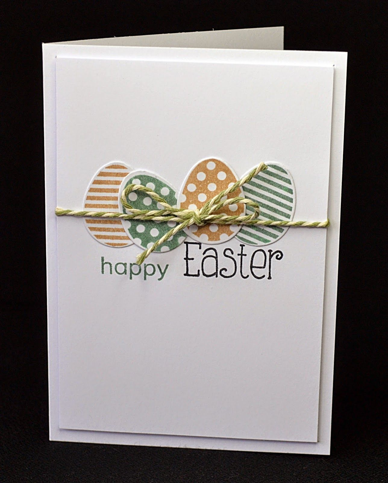 Clearly Besotted Challenge Spring Diy Easter Cards Easter