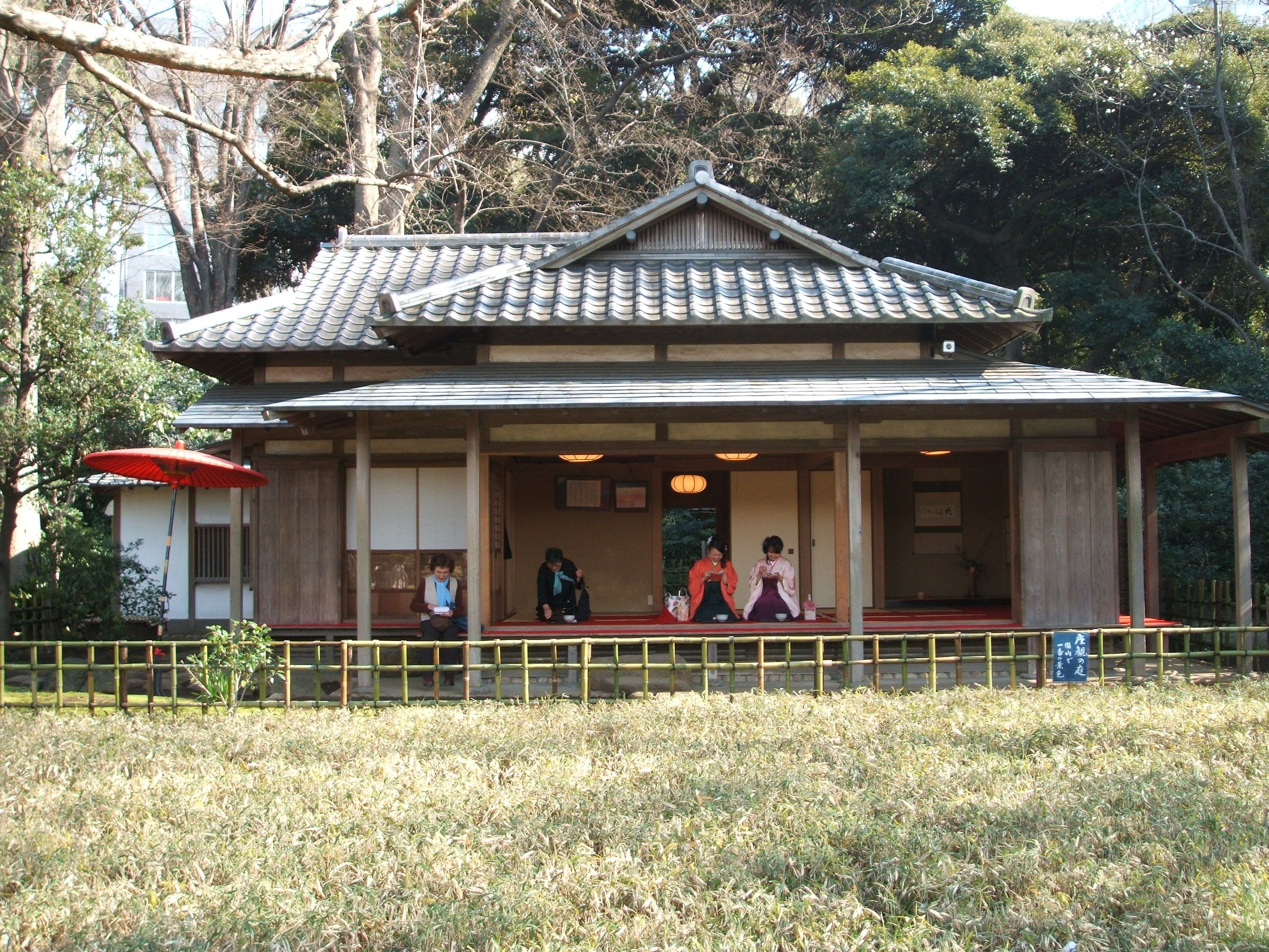 Traditional japanese house traditional japanese house for Conventional house style