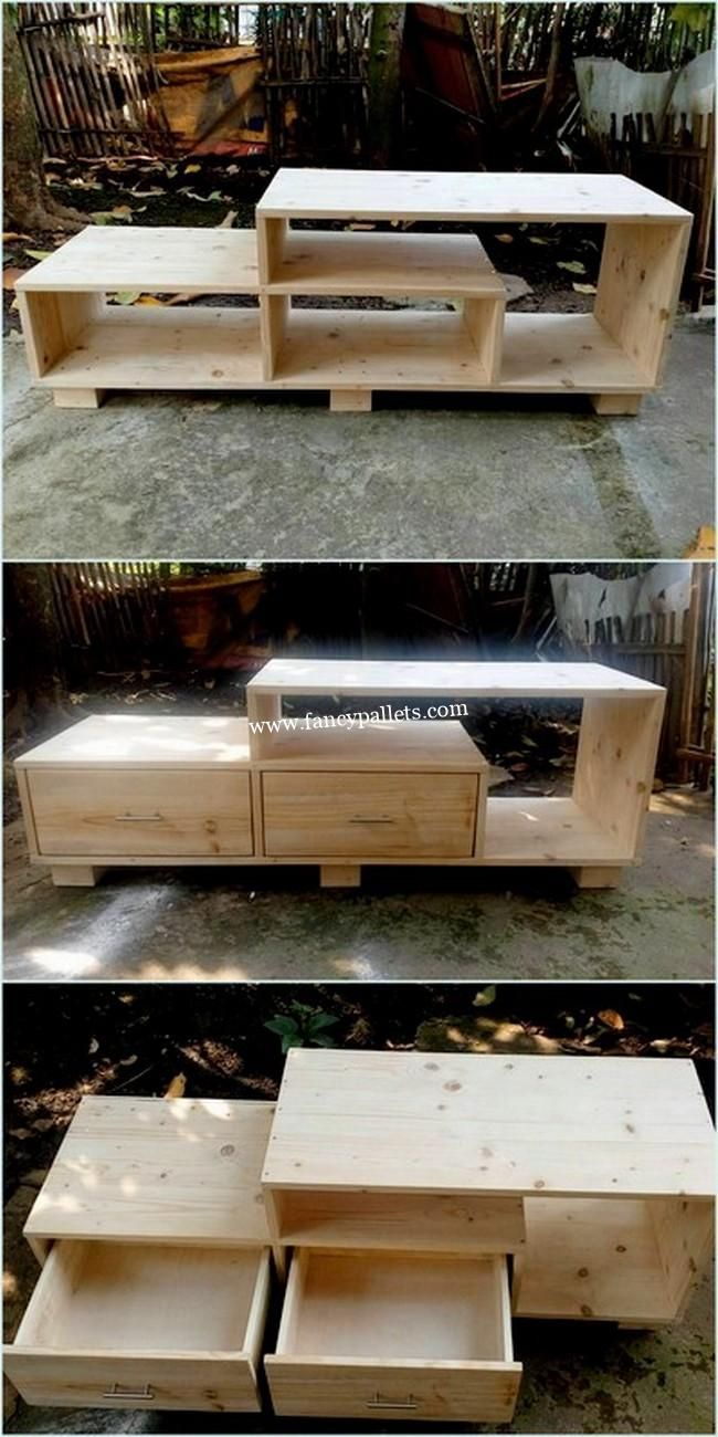50 Modern Creations Made With Reused Pallets Wood Material Diy