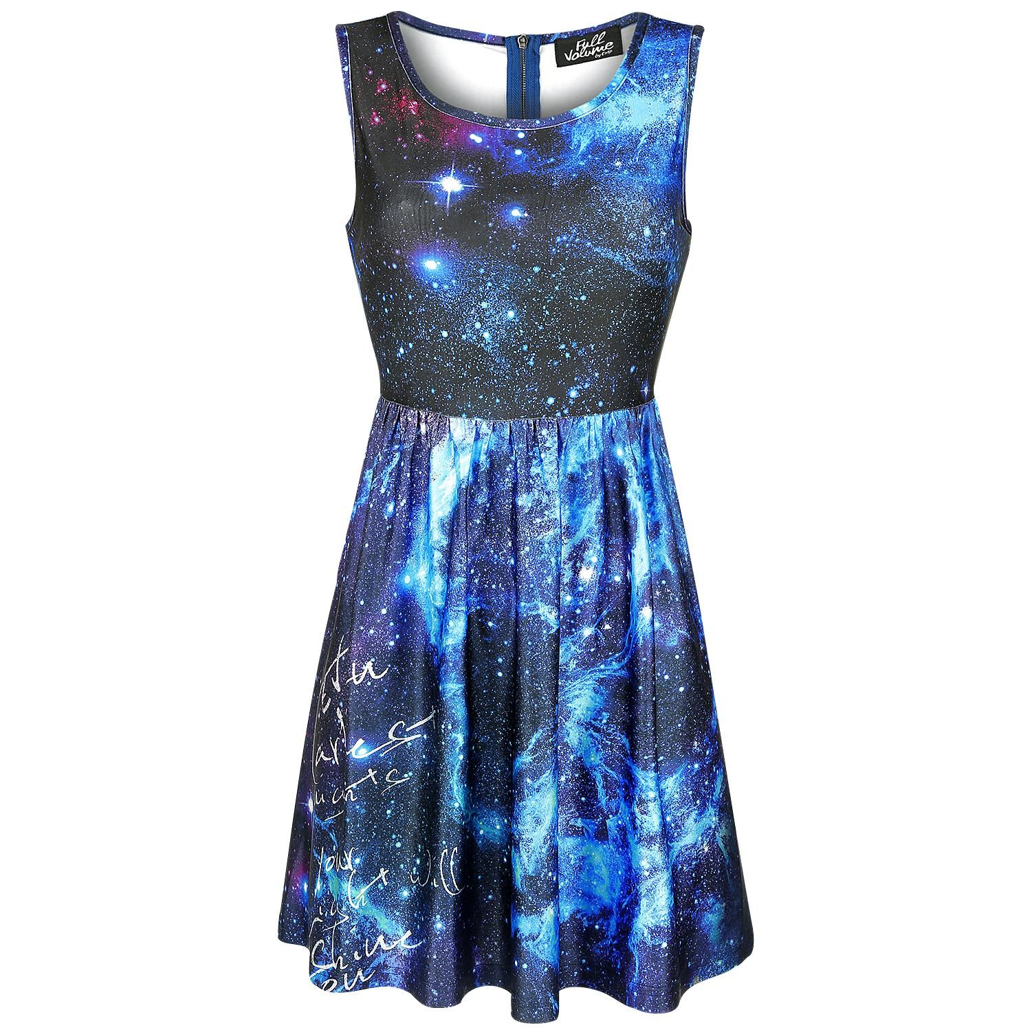 Galaxy Dress - Kurzes Kleid von Full Volume by EMP | Clothes ...