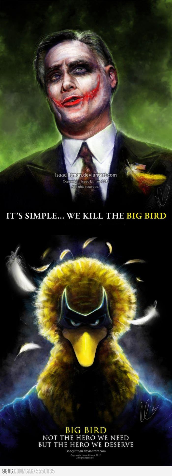 Image result for big bird vs jason