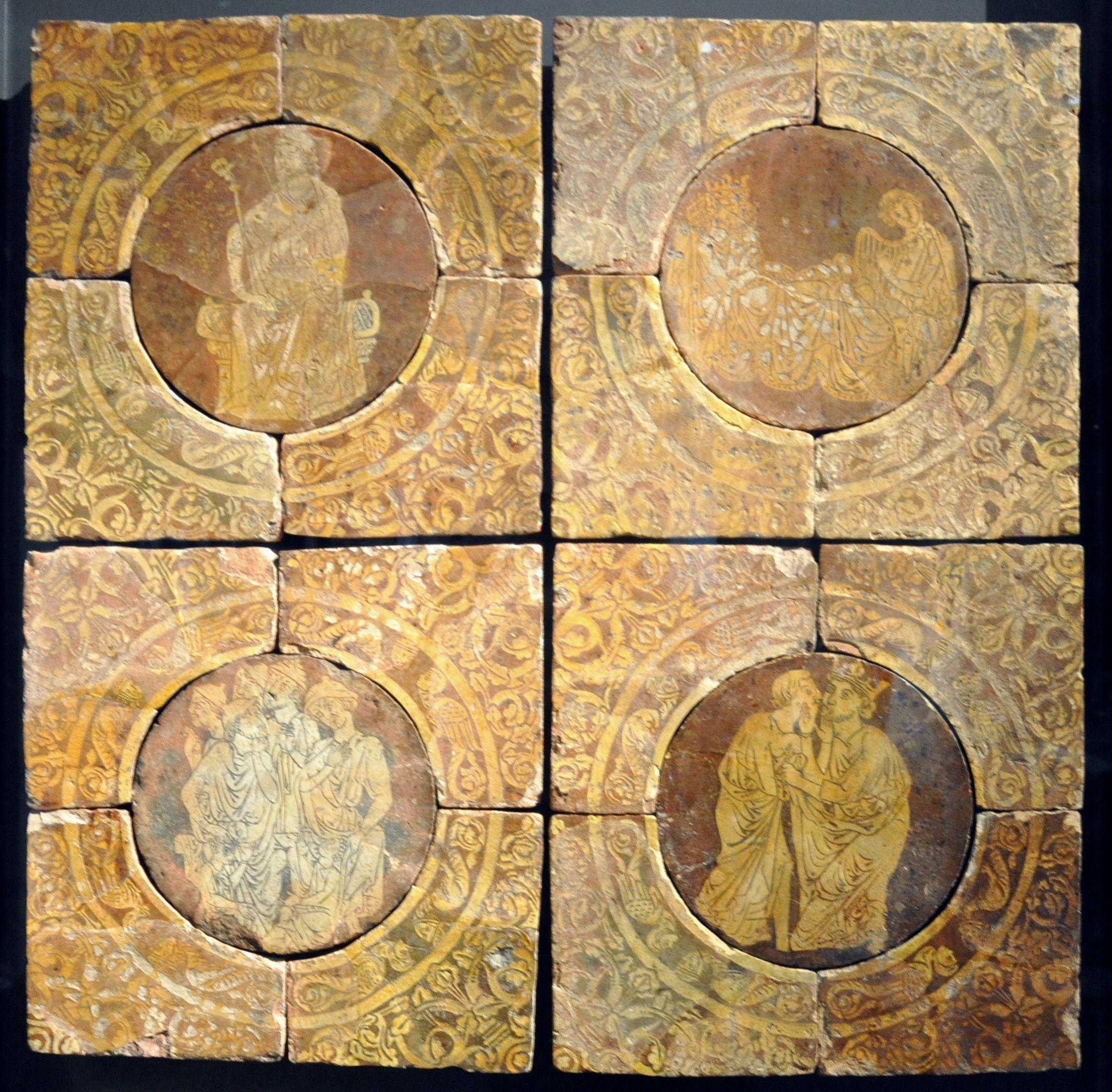 Tristram Tiles British Museum Chertsey Abbey Ceramic