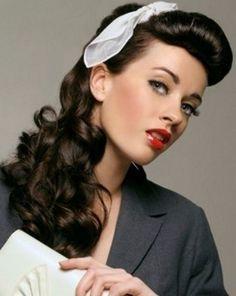 peinado pin up ms - Peinados Pin Up