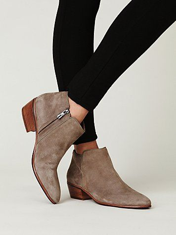 240a856b2fe94 Sam Edelman Petty Suede Ankle Boot. My favorite boot this season. I need  this color now.