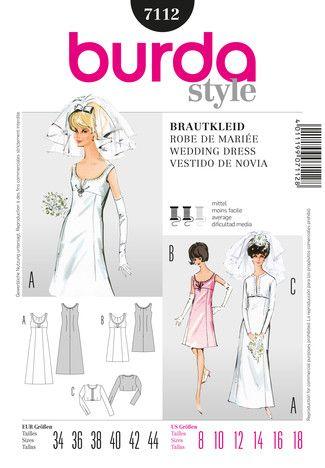 burda style Umschlag Cover Fertigschnitte | Wedding and Evenings ...