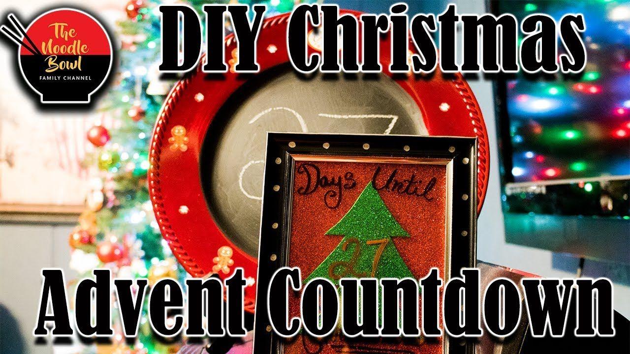 DIY Christmas Advent Countdown Calender, Christmas, Dollar Tree ...