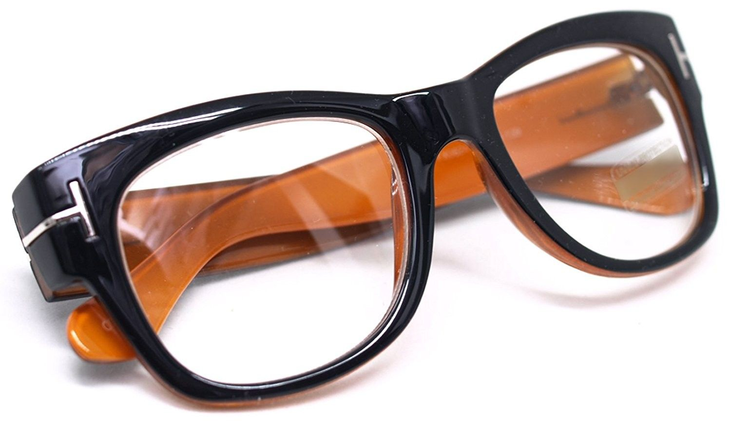 a4395d36993 Oversized Square Thick Horn Rimmed Clear Lens Eye Glasses Frame Non ...