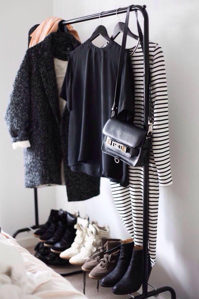 Clothes & shoes rack
