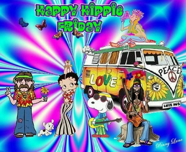 Happy Hippie Friday Something Different Peace