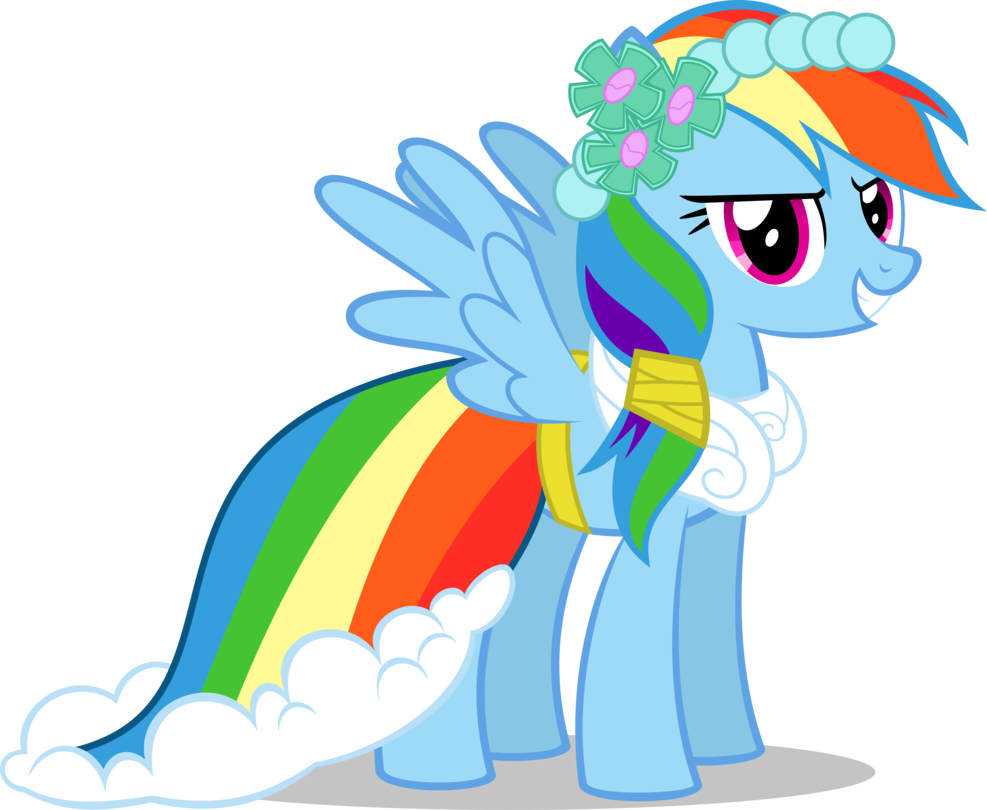 S02e25 S02e26 Rainbow Dash Bridesmaid Equestriafashion Ponyfashion Raritydesign Equestria