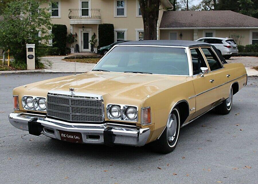 1976 Chrysler Newport Custom One Owner As Is Sale 44k Mi
