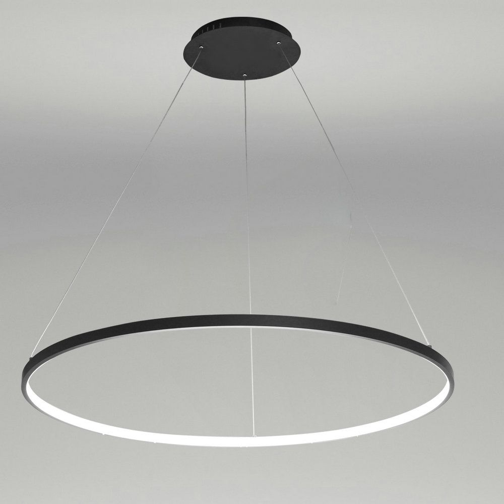Ledペンダントライト 照明器具 店舗照明 リビング照明 おしゃれ照明 黒色 白色 Led対応 D80cm Acrylic Chandelier Pendant Light Fixtures Led Pendant Lights