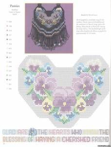 Схемы цветов мозаичным плетением - Цветы - Схемы плетения бисером - Сокровищница статей - Плете...