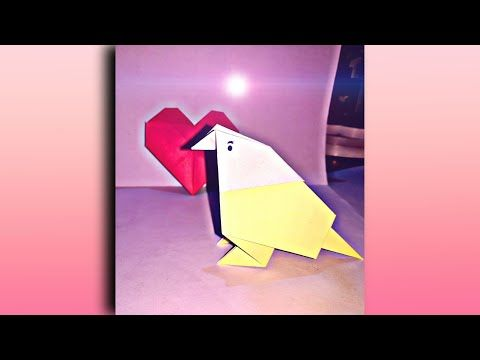 Photo of Origami Birds ||🐥🕊️ Paper Bird 🕊️🐥|| birds in two colour with one paper Home made decorative itme