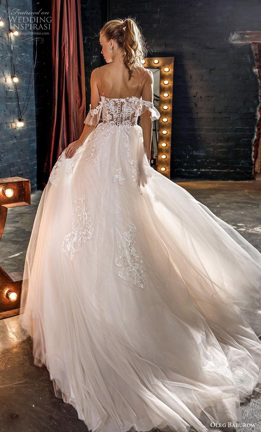 Oleg baburow 2020 star girl wedding dresses wedding