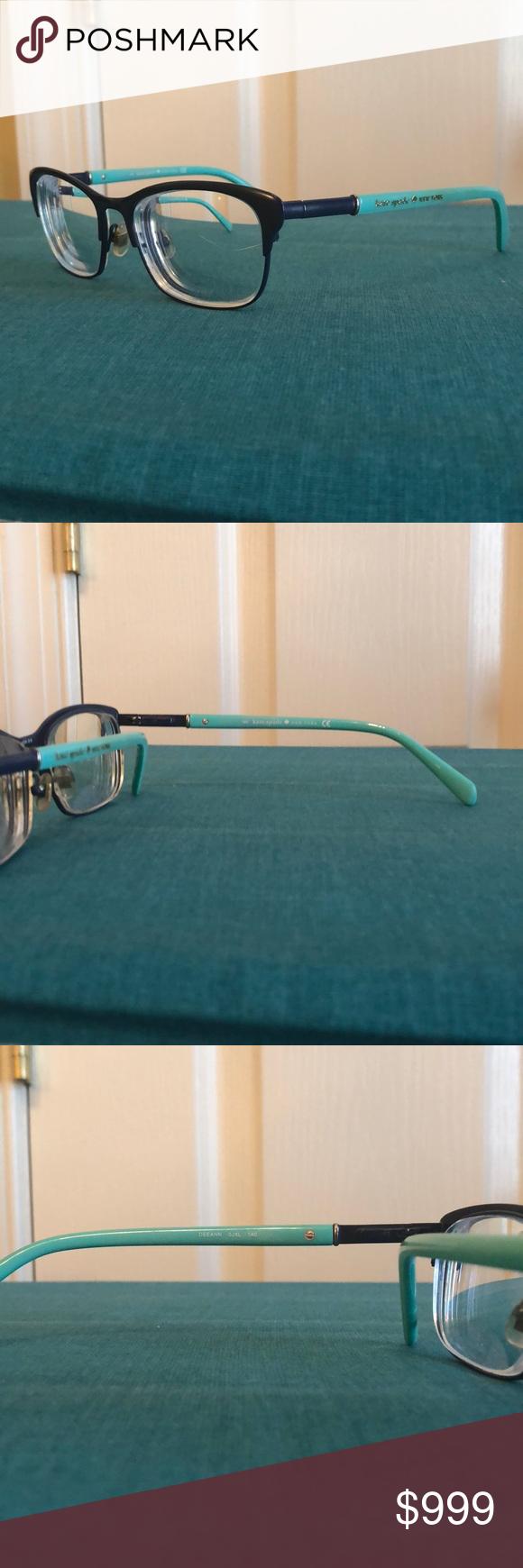 Kate Spade Teal and Blue Deeann Frames These Deeann frames ...