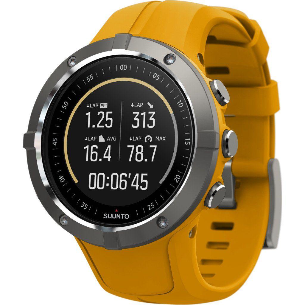 Suunto Spartan Trainer Wrist Hr Multisport Gps Watch Amber Suunto Gps Watch Multisport Watch