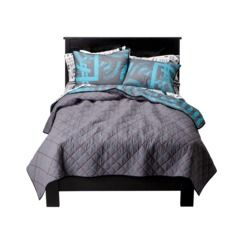 Shaun White Chain Stitch Quilt Turquoise For Brady White Bedding Kids Bedding Sets Bedding Sets