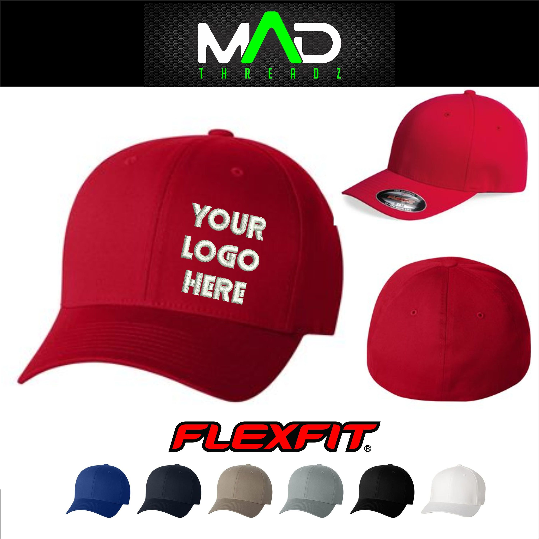 Custom Flexfit Hat Personalized Hat Embroidered Hat Your Etsy Personalized Hats Flexfit Embroider Hat