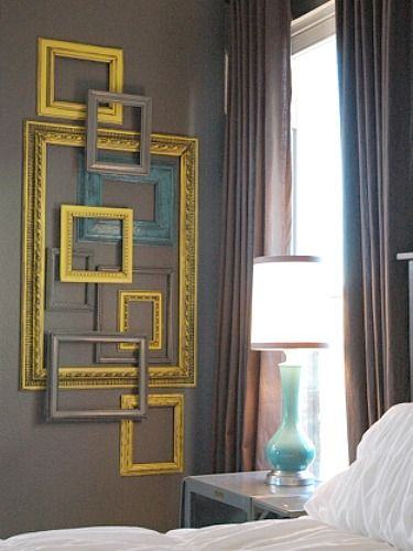 7 Chic Ways To Reuse Empty Frames For The Home Home Decor Decor