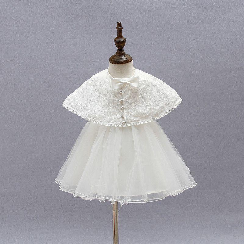 $26.82 (Buy here: https://alitems.com/g/1e8d114494ebda23ff8b16525dc3e8/?i=5&ulp=https%3A%2F%2Fwww.aliexpress.com%2Fitem%2FNewborn-Infant-Baby-Toddler-Girls-White-Lace-Baptism-Christening-Ball-Gown-Tutu-Flower-Girl-Wedding-Princess%2F32634004760.html ) Newborn Infant Baby Toddler Girls White Lace Baptism Christening Ball Gown Tutu Flower Girl Wedding Princess Dresses with Cape for just $26.82